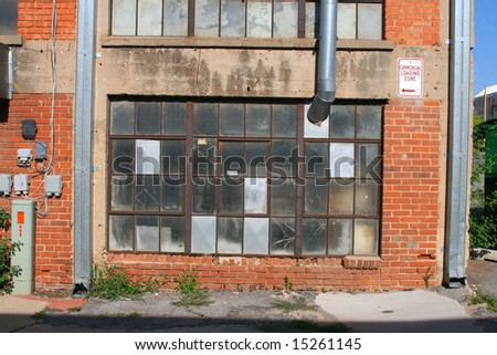Alley Scene - stock photo