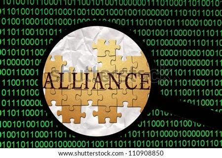 Alliance - stock photo