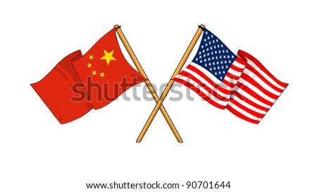 Alliance and friendship between China and USA