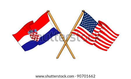 Alliance and friendship between Croatia and USA