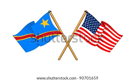 Alliance and friendship between Democratic Republic of the Congo and USA