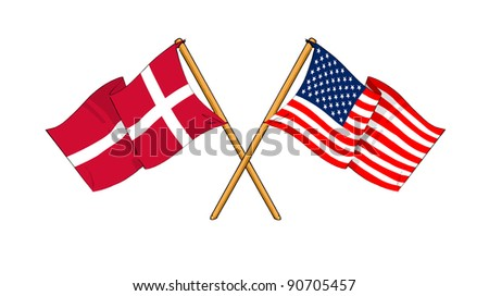 Alliance and friendship between Denmark and USA