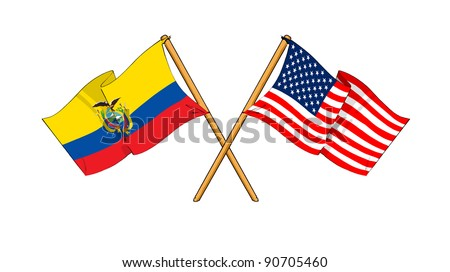Alliance and friendship between Ecuador and USA