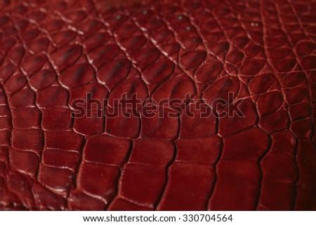 Alligator patterned background - stock photo