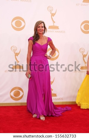 Allison Janney at the 65th Annual Primetime Emmy Awards Arrivals, Nokia Theater, Los Angeles, CA 09-22-13