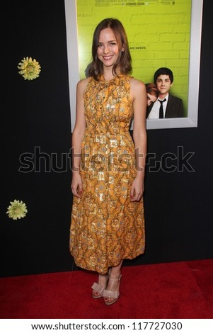 "Allison Miller at ""The Perks of Being a Wallflower"" Los Angeles Premiere, Arclight, Hollywood, CA 09-10-12"