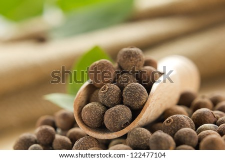 Allspice - stock photo