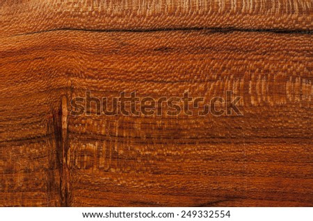almond wood texture with black strips - stock photo