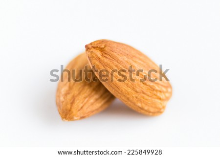 Almonds, Fruits - stock photo