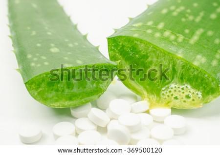 aloe pharmacy - stock photo