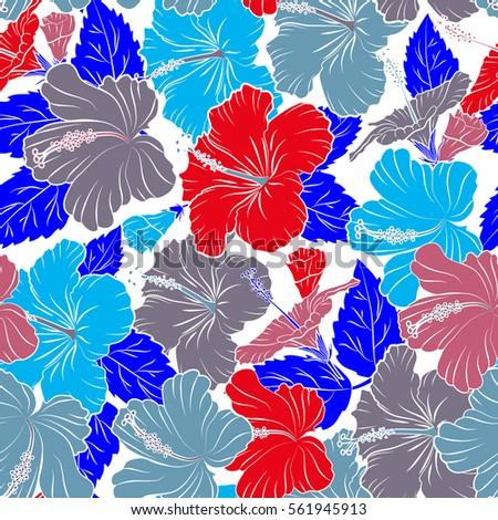 Aloha Hawaii Luau Party Invitation On White Background With