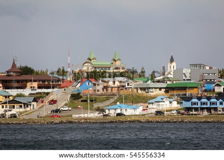 Along the Coast of Puerto Natales, Chile