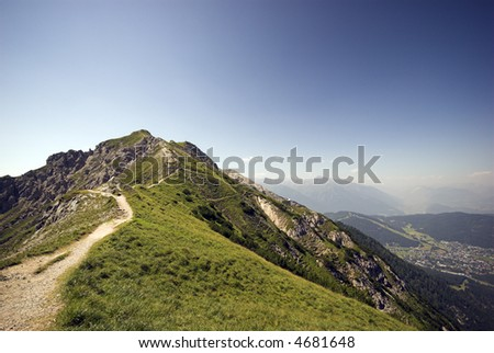 Alp Top - European Mountain – Alps in Austria