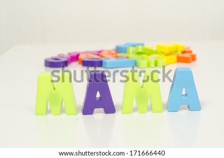 alphabet - stock photo