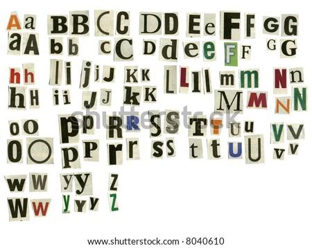 Alphabet cut newspaper missing q x stock photo edit now shutterstock alphabet cut from newspaper missing q x spiritdancerdesigns Gallery