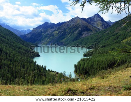 Altai. Lake Kucherlinskoe.