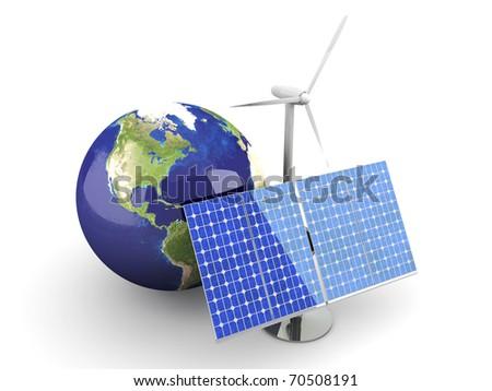 Alternative Energy - stock photo