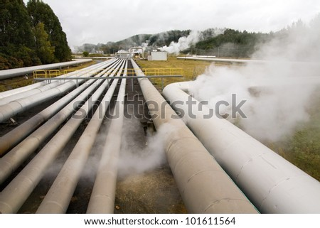 Alternative energy geothermal power station