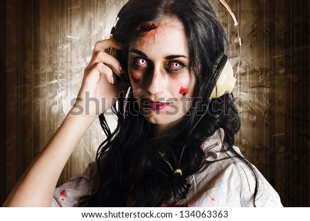 Stock images royalty free images vectors shutterstock for Mirror zombie girl