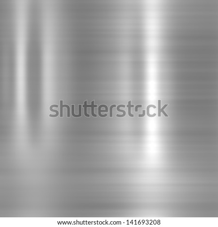 Aluminium background or texture - stock photo