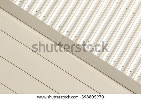 Aluminium metal background - stock photo