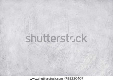 Aluminium Texture Background Scratches On Stainless Stock Photo