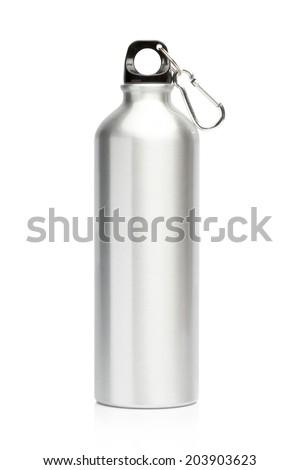 stock-photo-aluminum-bottle-water-isolat
