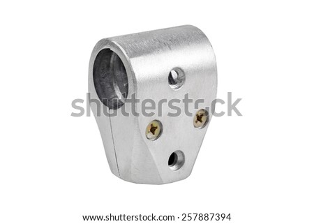 aluminum claw - stock photo