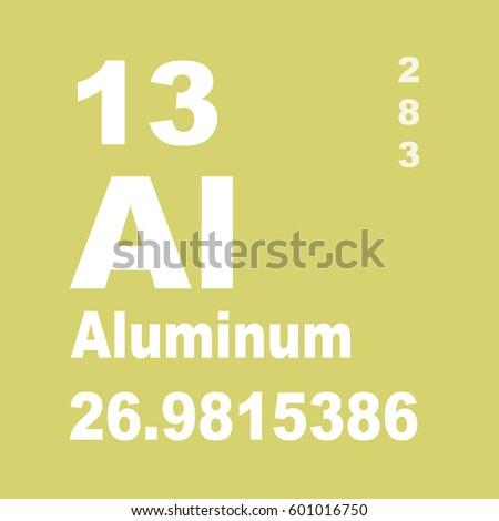 Aluminum periodic table elements stock illustration 601016750 aluminum periodic table of elements urtaz Choice Image