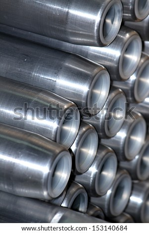 Aluminum pipe for fitting Electrical cable with Electrical steel tower