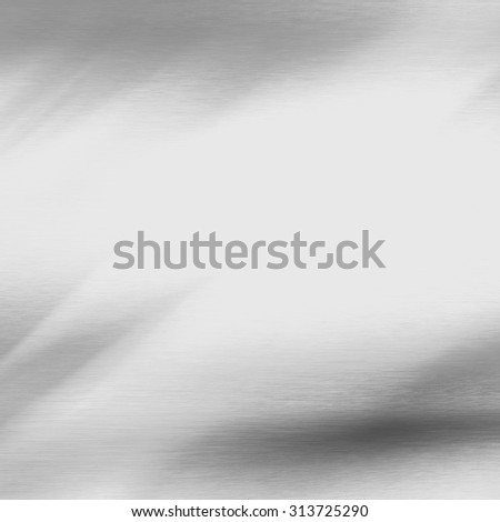 aluminum plate stainless metal texture abstract background with copy space and abstract vignette - stock photo