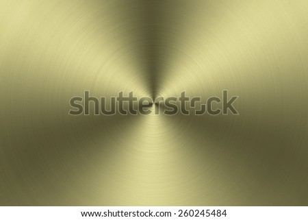 Aluminum Texture background with golden - stock photo
