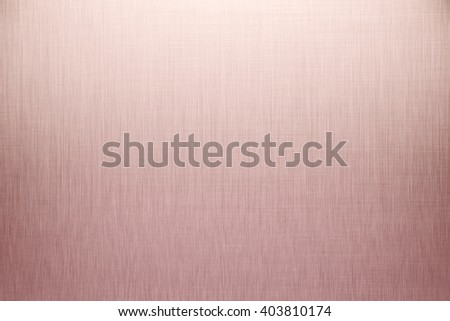 Aluminum texture background with rose gold - stock photo