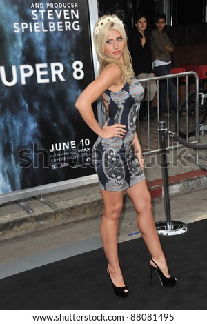 "Alyson Michalka at the Los Angeles premiere of ""Super 8"" at the Regency Village Theatre, Westwood. June 8, 2011  Los Angeles, CA Picture: Paul Smith / Featureflash"
