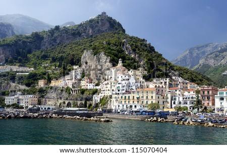 Amalfi city, Italy - stock photo