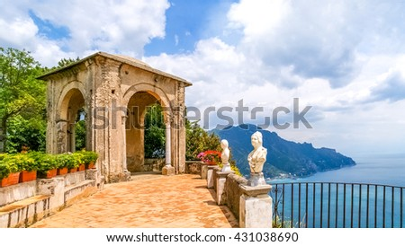 Amalfi, Coast,  - stock photo