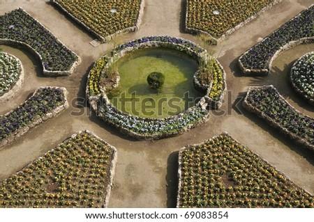Amalfi Coast Gardens Italy - stock photo