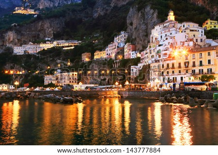 Amalfi Resort, Italy, Europe - stock photo