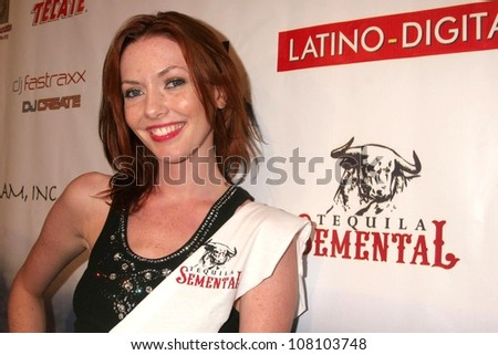 "Amanda Fields  at the world premiere screening of ""No Bad Days"". Egyptian Theatre, Hollywood, CA. 07-08-08 - stock photo"
