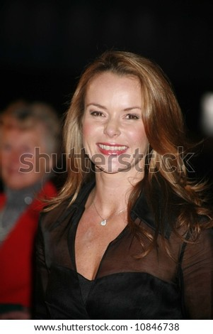 "AMANDA HOLDEN arrives at the world premiere of ""The Golden Compass"" at the Odeon Leicester Square on November 27, 2007 in London, England"