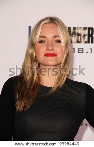 "Amanda Michalka  at the ""I Am Number Four"" World Premiere, Village Theater, Westwood, CA. 02-09-11"