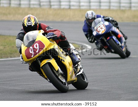 Amateur riders at the Queensland Raceway