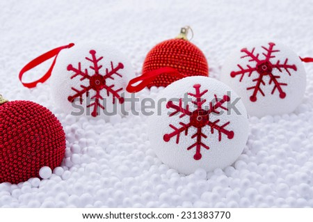 Amazing christmas background with great colors - stock photo