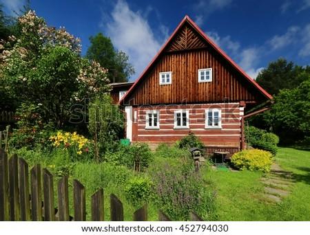 Amazing cottage - stock photo