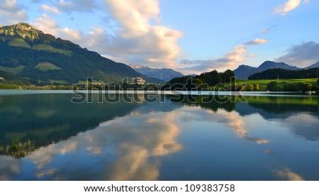 amazing landscape - stock photo
