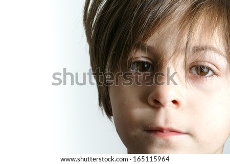 Amazing little girl portrait - stock photo