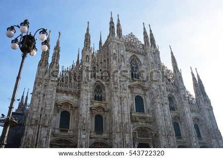 Amazing Milan Cathedral, Italy