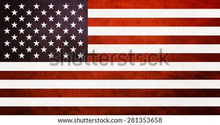 Amazing original american flag. USA flag with best proportions.