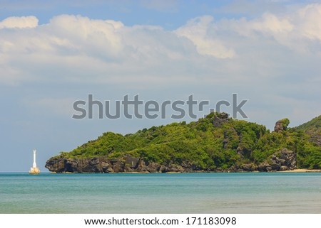 Amazing view of seaside at Tarutao island, Thailand - stock photo