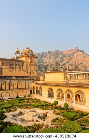 amber Fort, the Palace fortress in India